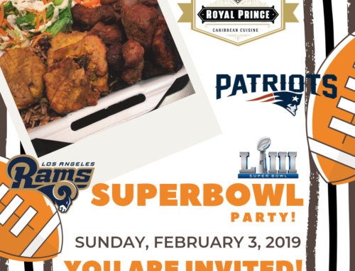Come watch the SuperBowl @ Royal Prince Restaurant!